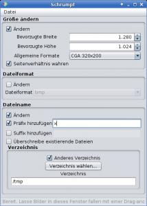 Screenshot German